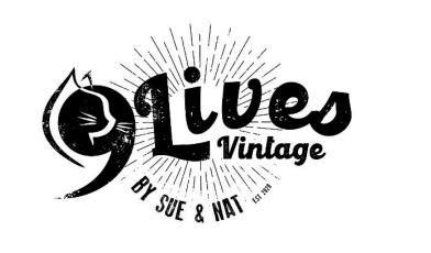 Nine Lives Vintage Logo
