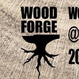 Wood Forge Sharpening Logo